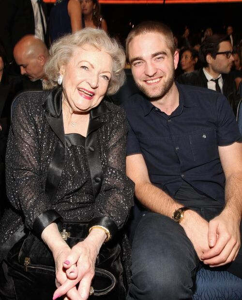 Robert Pattinson and Betty Whote