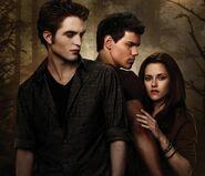 Edward, Jacob and Bella - New Moon Poster