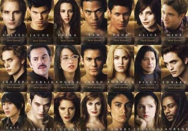 New Moon posters combained