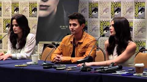 Breaking Dawn Part 2 Comic Con 2012 Panel 3 - Jackson Rathbone, Ashley Greene, Kellan Lut