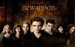 The Cullens New Moon wallpaper