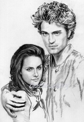 File:Another Kristen and Robert WIP by CezLeo.jpg