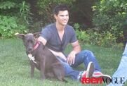 ImagesCACW8WQC-tay and his dog Roxy