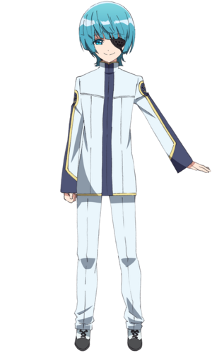 Yuuto anime design