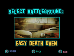 Twisted Metal - Small Brawl - Easy Death Oven lvlsel