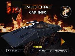Twisted Metal 2 - Minion
