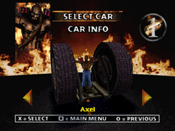 Twisted Metal 2 - Axel