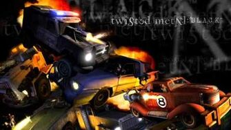 Twisted Metal Black Downtown Final Enemy Music-0