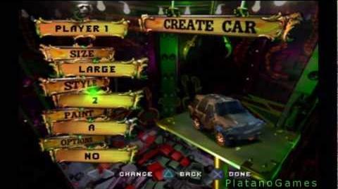 Twisted Metal 4 - Create A Car - HD