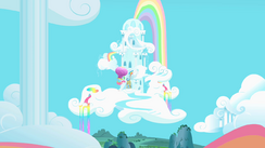 Rainbow Dash home s1e25