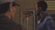 Walking Dead Axe Discovery