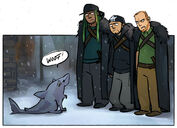 Fan Art Game of Thrones Basking Shark Sketchblargh