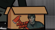 First Person Stupidity Murphy box of axes