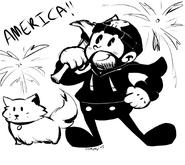 Old Time Cartoon Matt