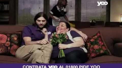 Ashton Kutcher en comercial de yoo (parte 2)