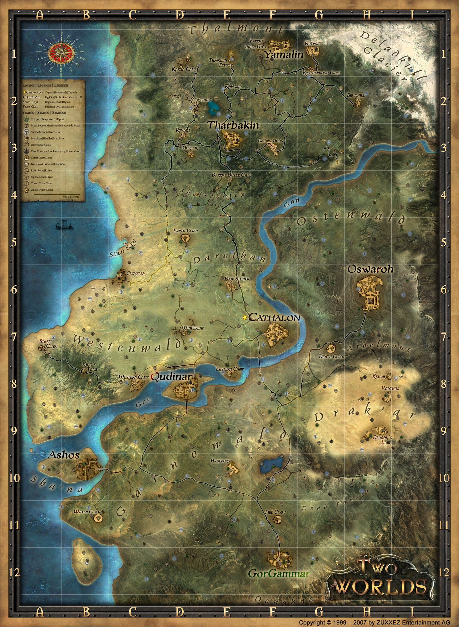 Albion Castle Two Worlds Map Two Worlds Wiki Fandom Powered By Wikia