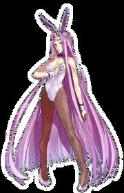 Medusa's Voluptuous Bunny Suit