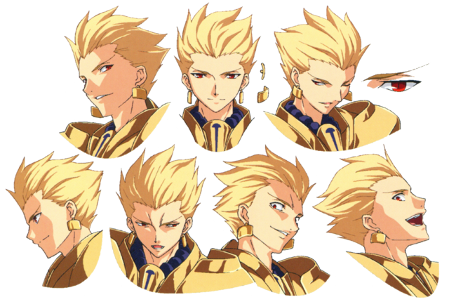 File:Gilgamesh ufotable Fate Zero Character Sheet 2.png