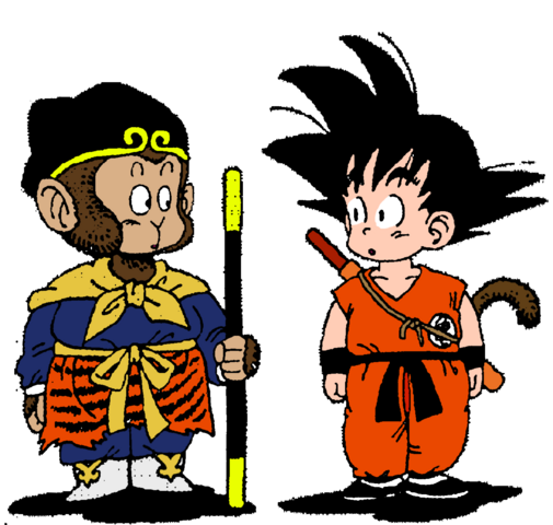 File:Goku and sun wukong by soulreaperblaze-d4g7pxi-1-.png