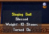 Singing ball