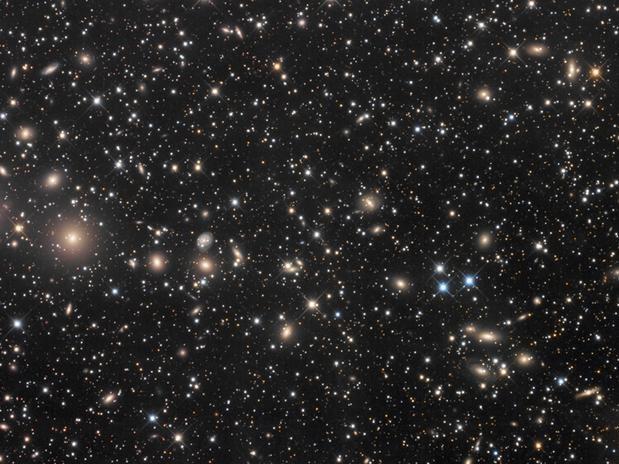 Resultado de imagen de El cúmulo de galaxias llamado ZwCl 8193
