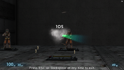 Particle Lance Firing