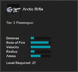 Artic Rifle Infosheet