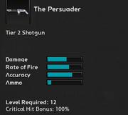 The Persuader infosheet