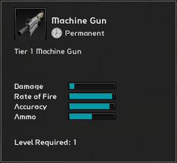Machine Gun Infosheet