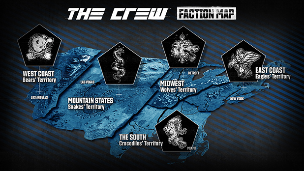 factions ubisoft 39 s the crew wiki fandom powered by wikia. Black Bedroom Furniture Sets. Home Design Ideas