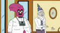 Blob and Leonard for job