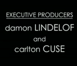 Producers Lindelof and Cuse