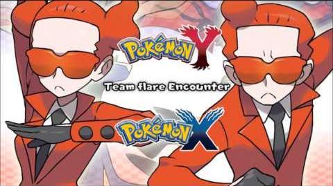 Pokemon X Y - Team Flare Encounter HD (Official)