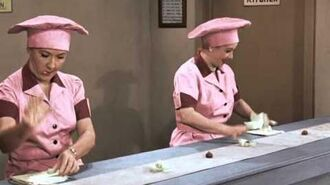 """I Love Lucy"" Christmas Special - Newly Colorized ""Job Switching"" Episode"