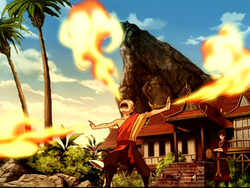 Aang Firebending
