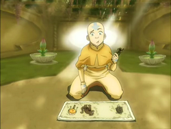 Aang finds out