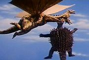 Anguiris vs King Ghidorah