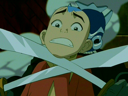 Aang blue-spirit