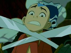 Aang blue-spirit
