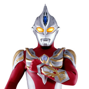 Ultraman Max close up