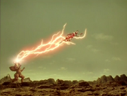 Ultraman Cosmos Corona Mode Solar Brave Kick