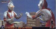 Ultraman vs Imit-Ultraman