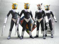 Alien Magma toys