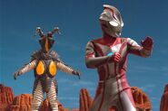Mebius vs Zetton 2