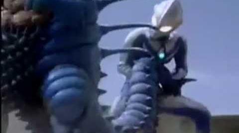 Luna vs Luna! Ultraman Cosmos vs Gelworm