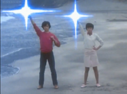 Takeshi & Ryoko turning back to their Ultra form