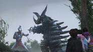 Ultraman Tiga v Tyrant