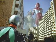 Sasori Gadoras vs Ultraman ft. Kamen Rider