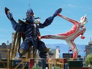 Mebius vs Temperor