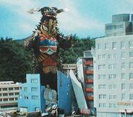 Gyango derping behind a building